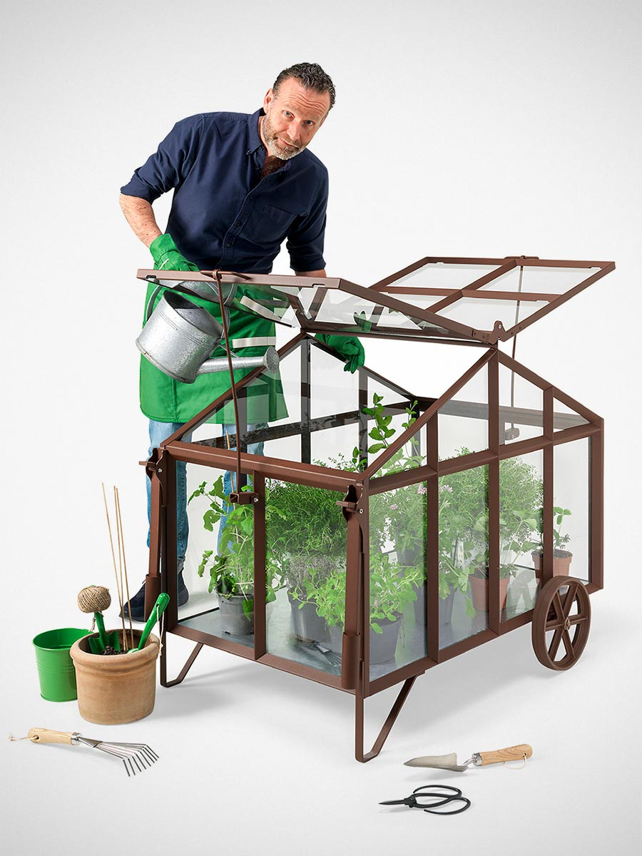 Revised Bramber Mobile Greenhouse