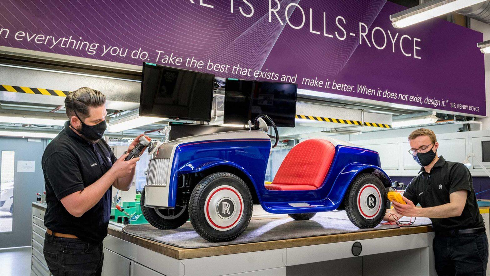 Rolls-Royce Kiddie Ride Serviced