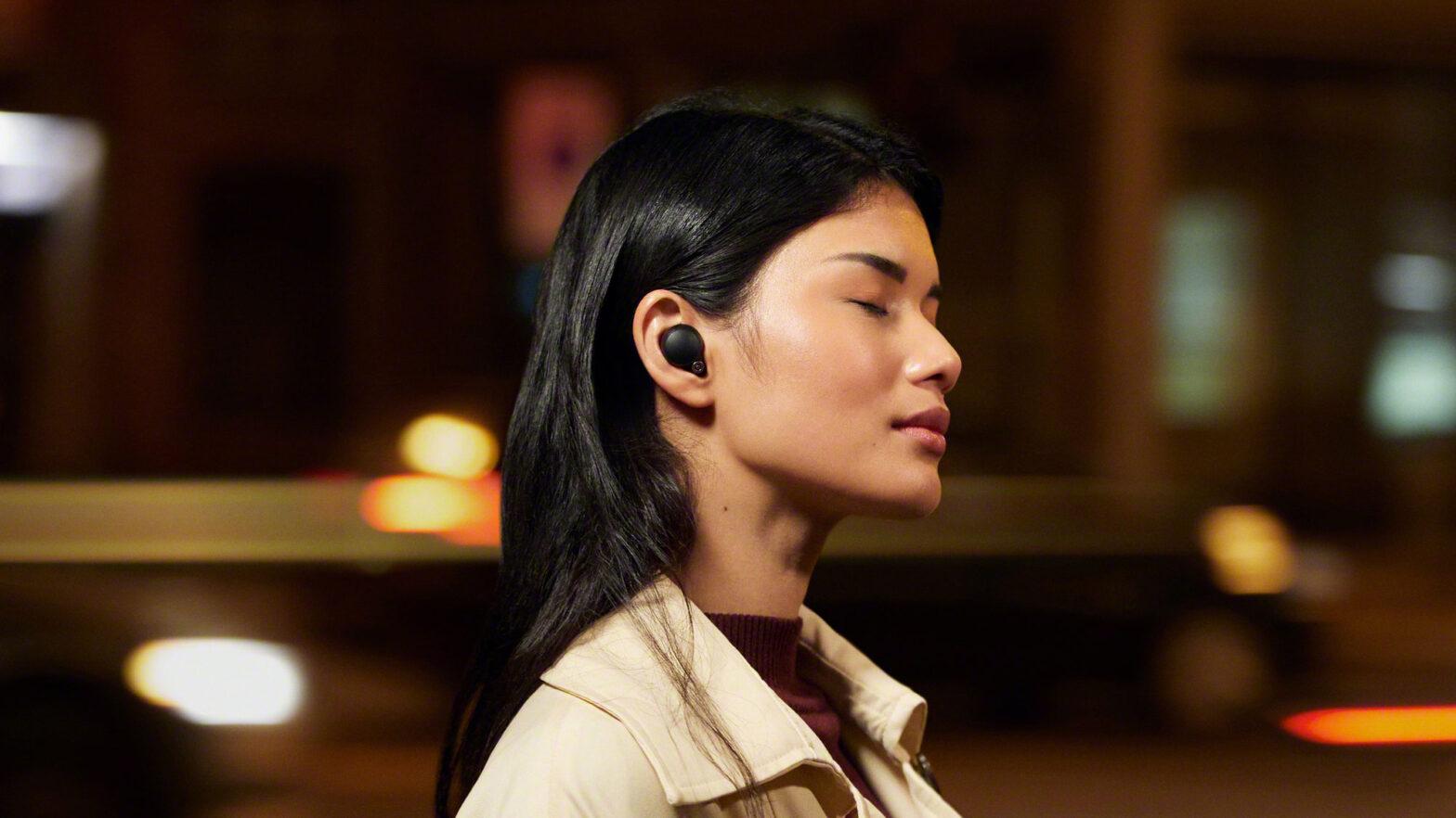 Sony WF-1000XM4 True Wireless Earbuds