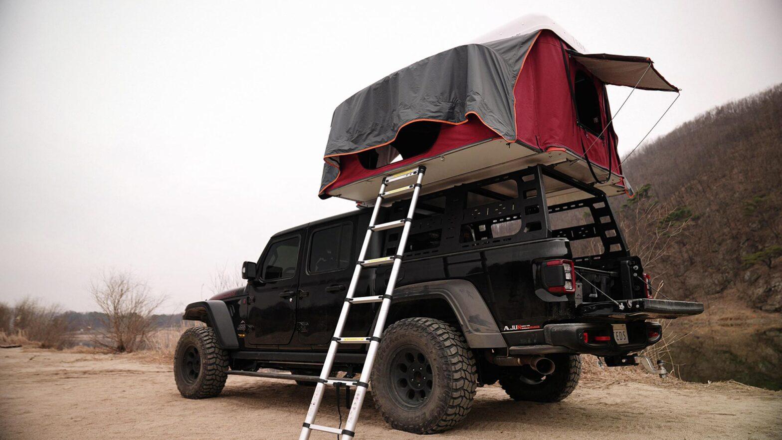 TEDPoP Pop-up Hardshell Rooftop Tent
