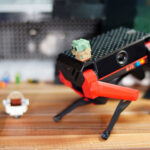 TiBeast Proves That Pro Robot Dog Can Be Fun Too Because, It Is LEGO Compatible