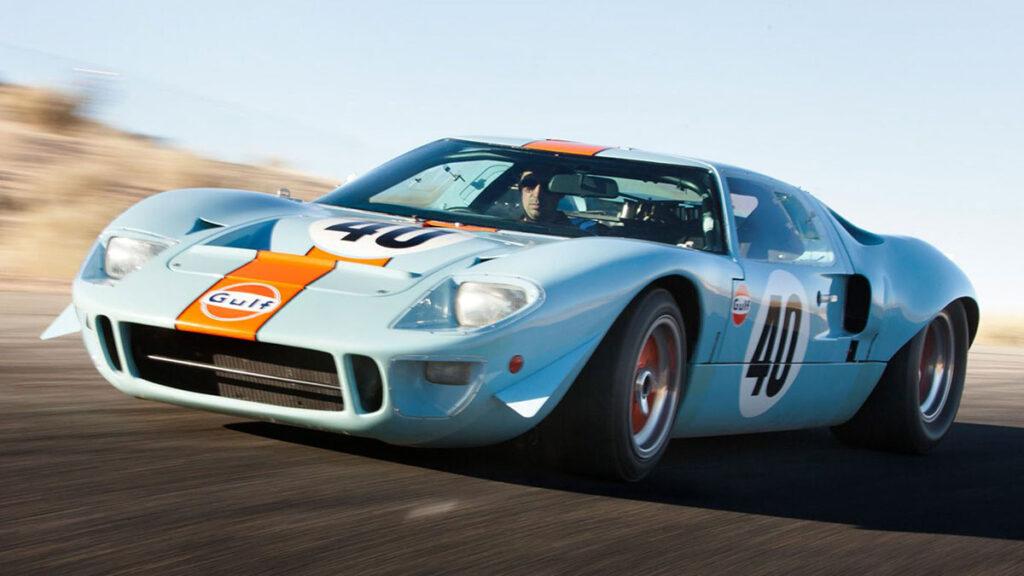 1971 Le Mans Movie 1968 Ford Gulf GT40