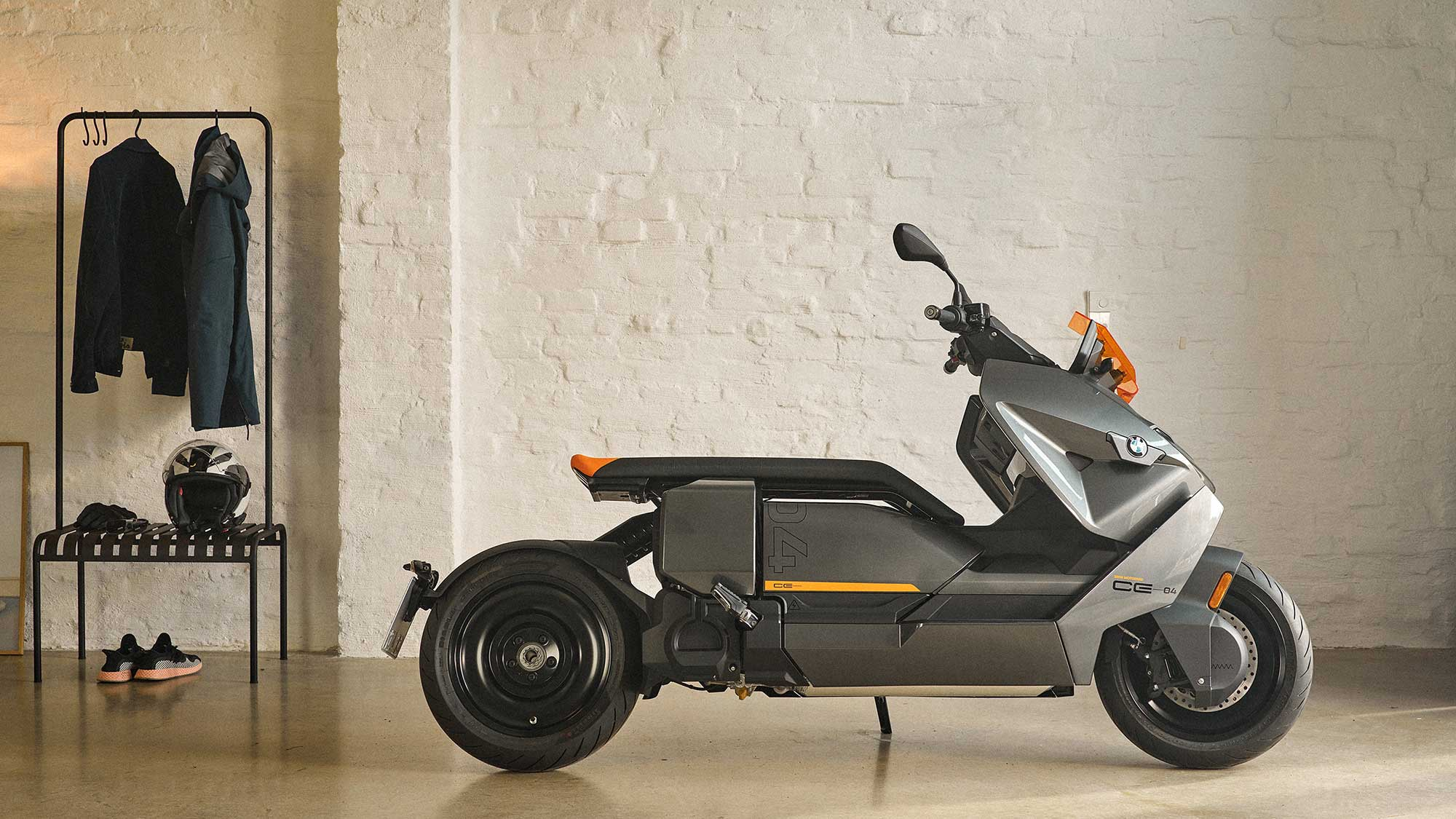 2022 BMW CE 04 Electric Scooter