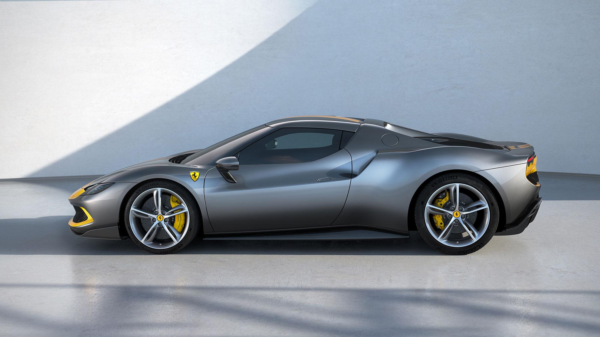 2022 Ferrari 296 GTB Hybrid Supercar