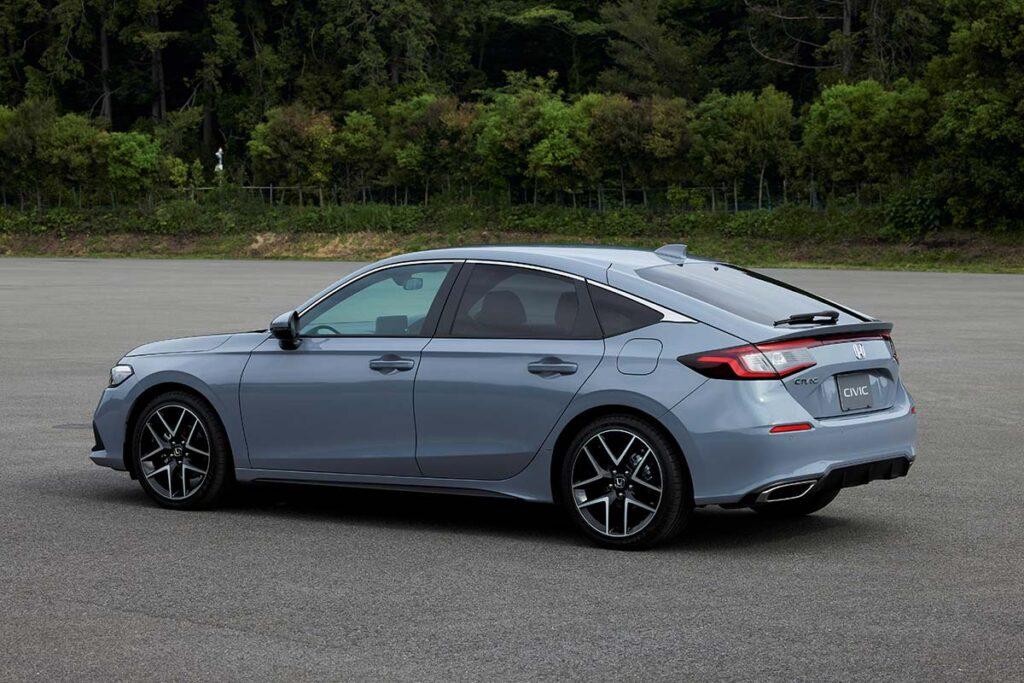 2022 Honda Civic Hatchback Japan