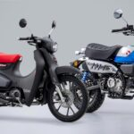 2022 Honda Super Cub and Monkey Motorcycles Are (Retro) Gorgeous
