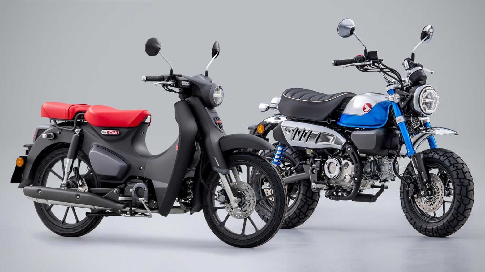 2022 Honda Super Cub and Monkey Motorcycles