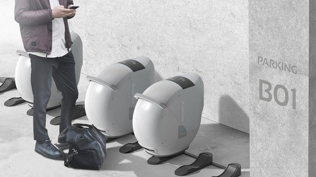 A-Monite Portable EV Charger by ChangJoong LEE