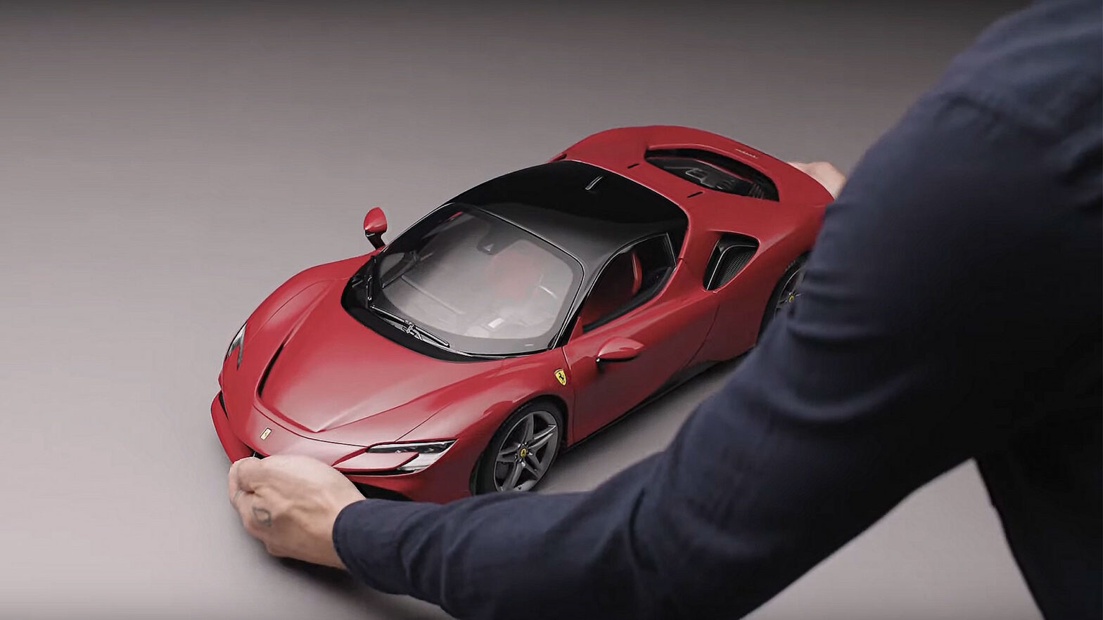 Amalgam Scale Model for Buyers of Ferrari