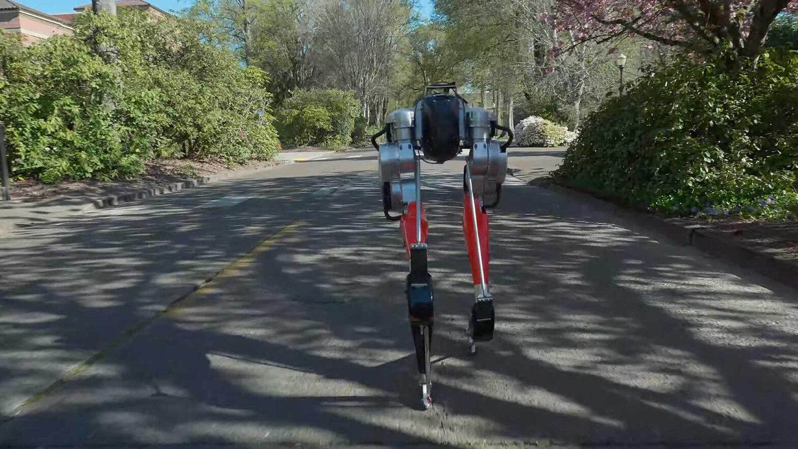 Cassie Bipedal Robot Runs a 5K