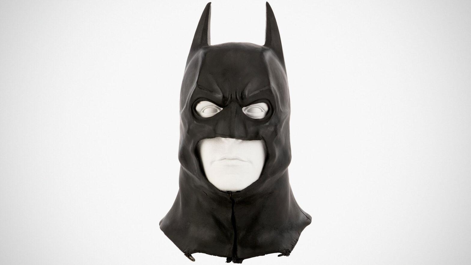 Christian Bale Batman Cowl Batman Begins