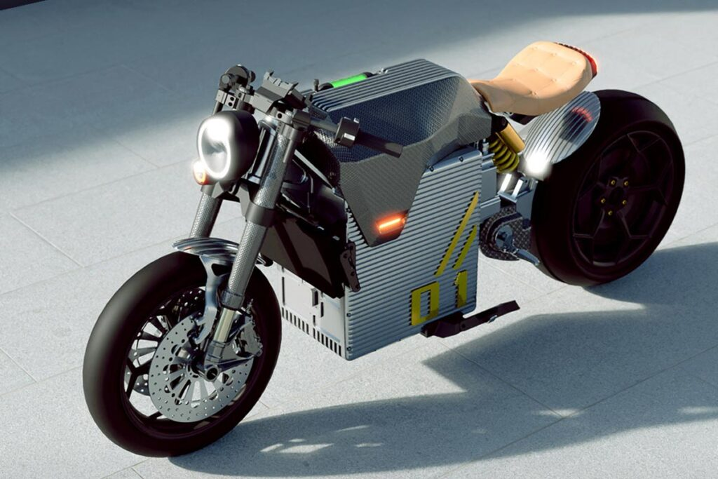 Davinci DC Classic Electric Motorcycle