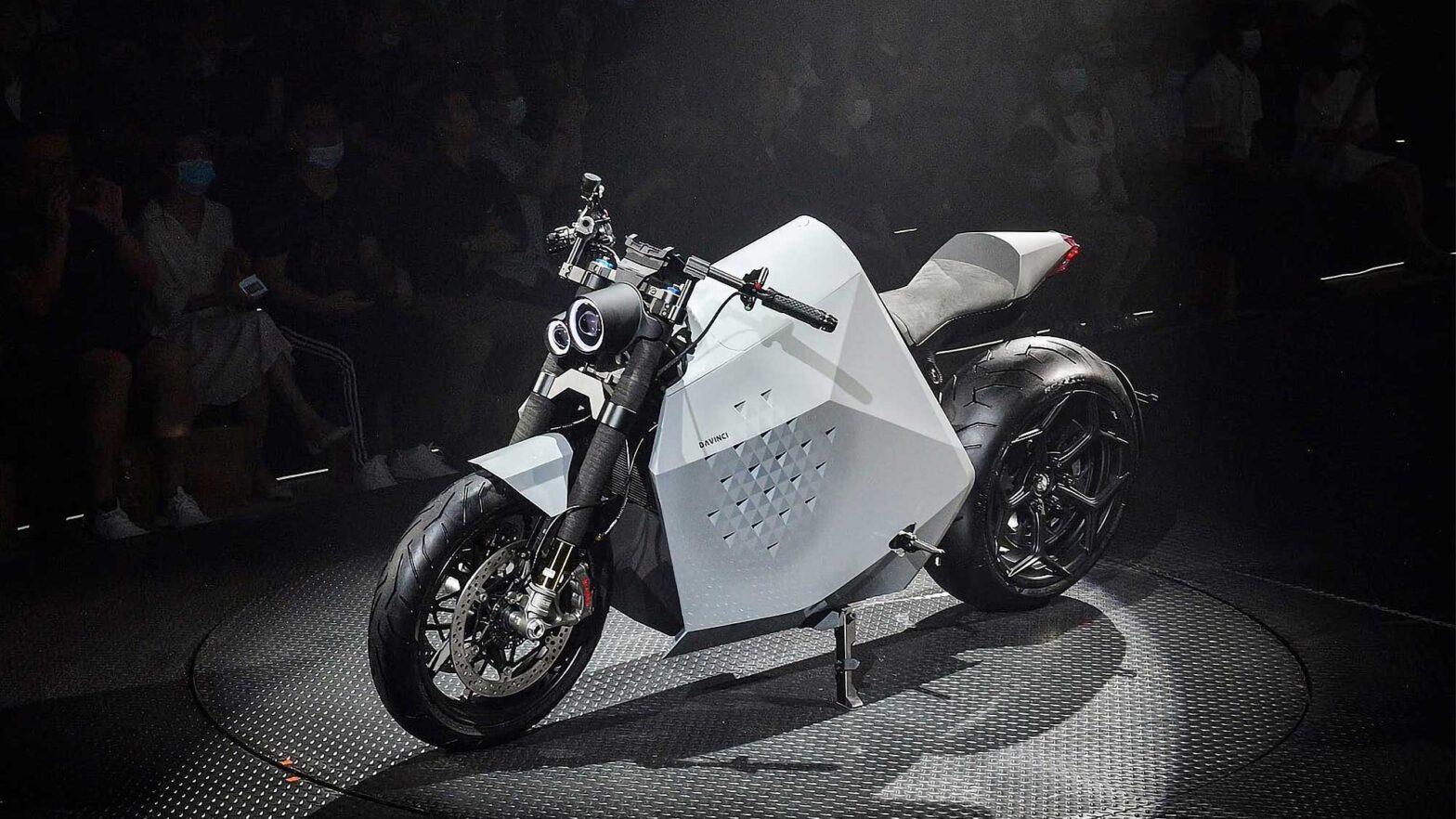 Davinci DC100 Electric Motorcycle
