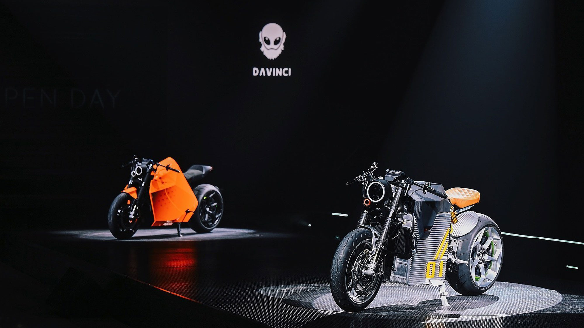 Davinci DC100 and DC Classic Electric Motorcycles