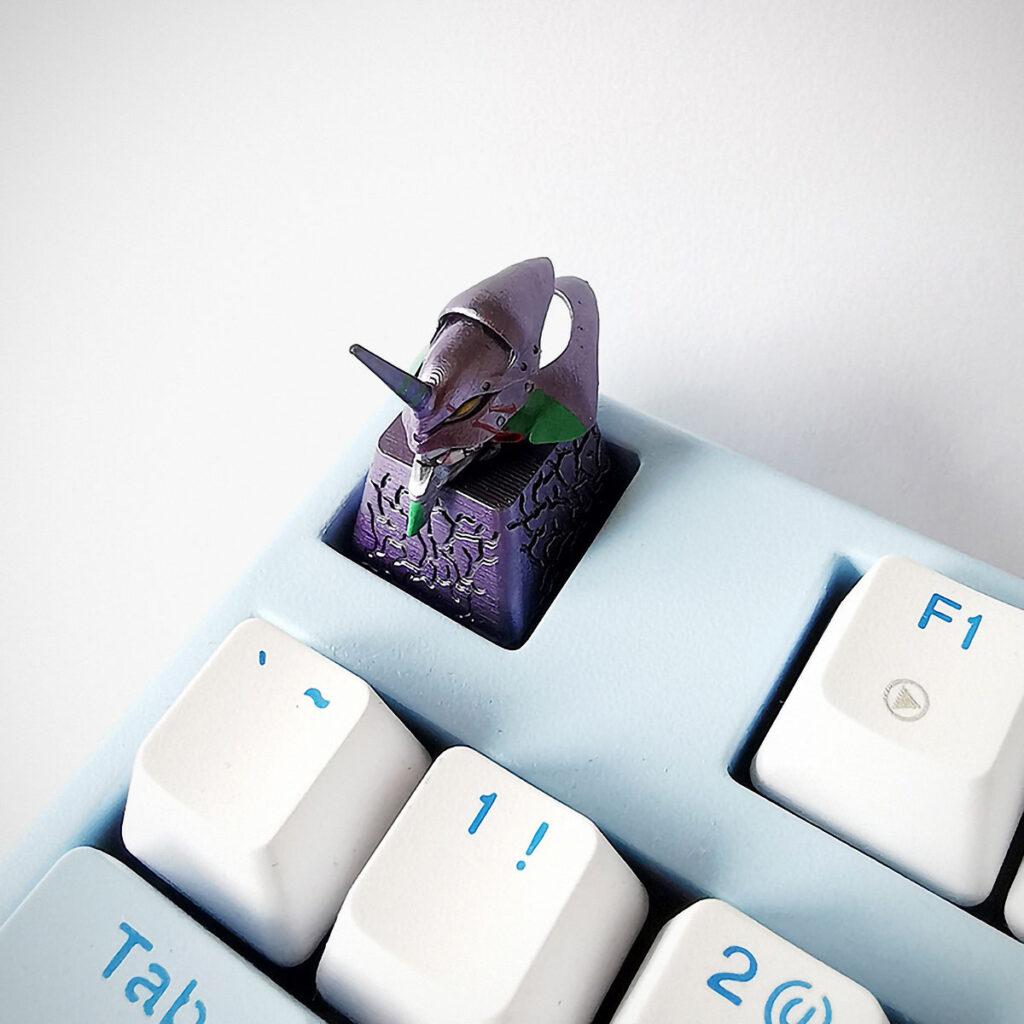 Evangelion Keycap for Mechanical Keyboard
