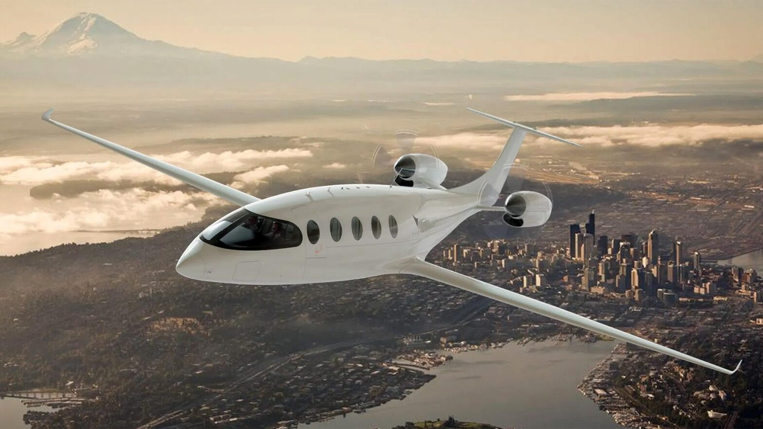 Eviation Alice Electric Commuter Aircraft