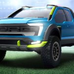 Ford Souped Up A F-150 To Look Like The Ford F-150 In <em>Rocket League</em> Video Game
