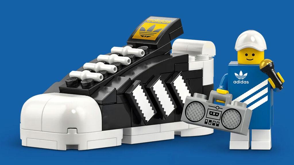 Free LEGO Mini adidas Originals Sneaker