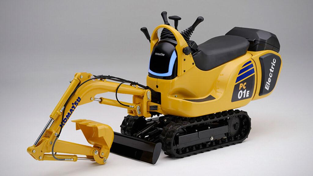 Honda x Komatsu Electric Micro Excavators