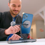 HyperJuice 4-in-1 Magnetic Wireless Charger Charges 4 Devices And It's Foldable Too
