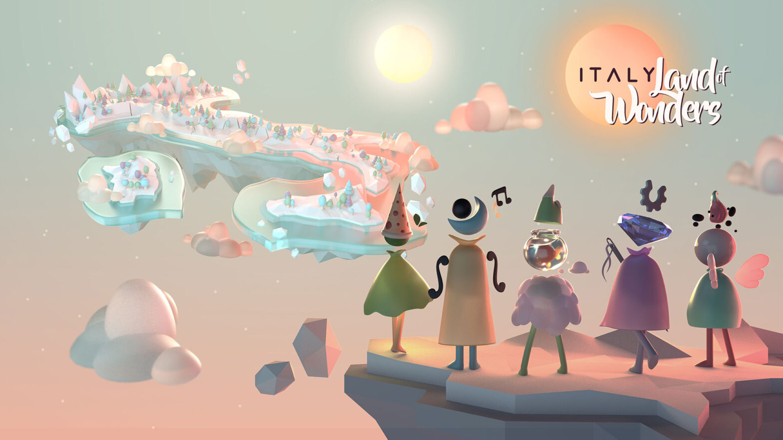 Italy Land of Wonders Mobile Game