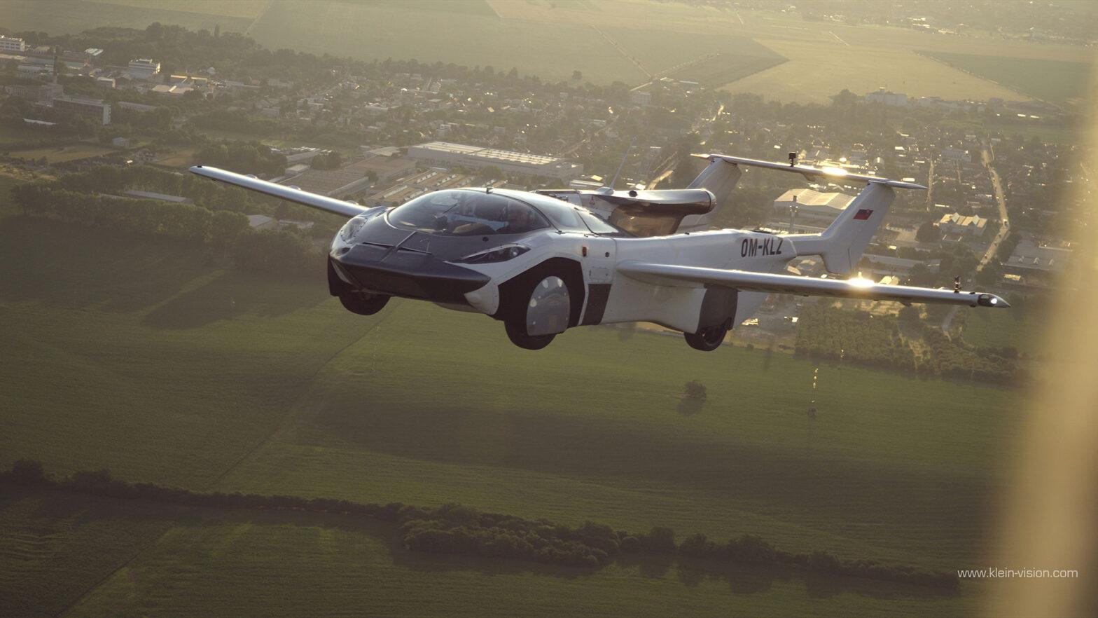 Klein Vision Flying Car Makes First Inter-city Flight