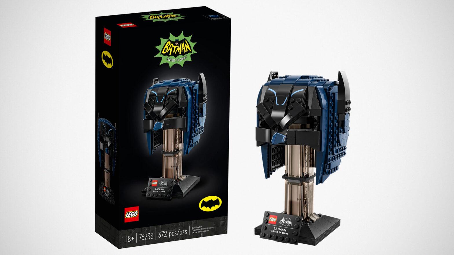 LEGO 76238 Classic TV Series Batman Cowl