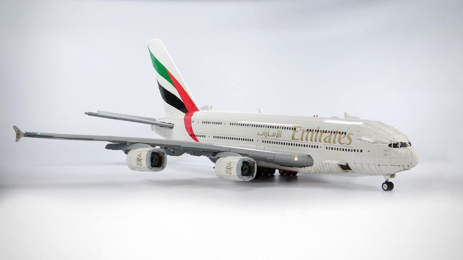 LEGO Emirates Airbus A380 Superjumbo