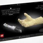"""Unofficial LEGO """"Luke's Hand After It Was Cut Off By Darth Vader Who Is Also Luke's Dad"""""""