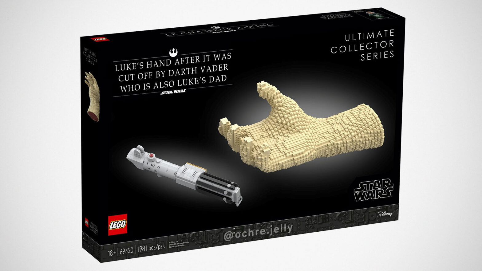 LEGO Luke's Hand Ultimate Collector Series