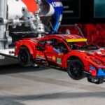 """LEGO Technic Ferrari 488 GTE AF Corse """"Hit 200 mph"""" On A Real Race Track"""
