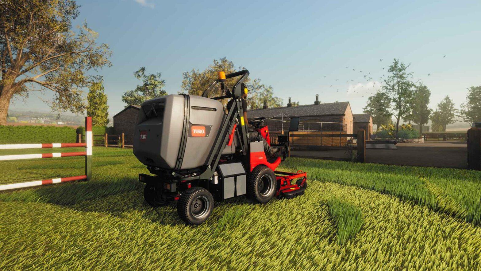 Lawn Mowing Simulator Video Game