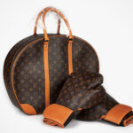 Rare Louis Vuitton x Karl Lagerfeld Boxing Gloves and Case From 2014 Is Going Under The Hammer Now
