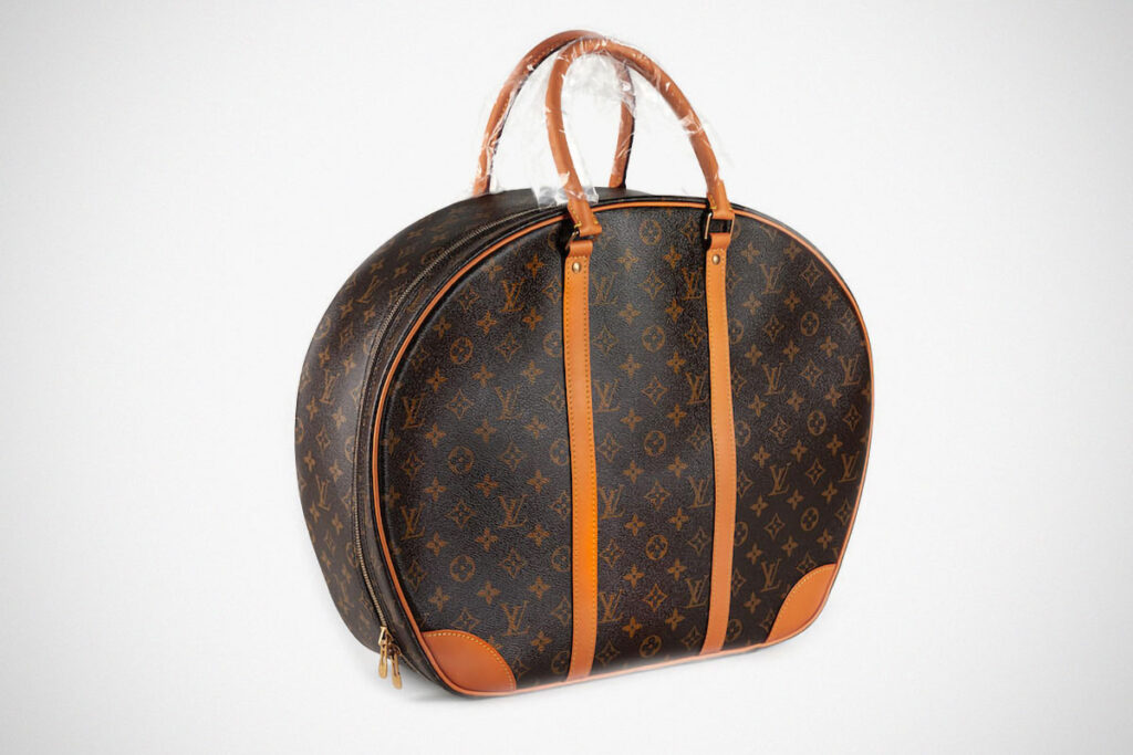 Louis Vuitton x Karl Lagerfeld Boxing Gloves and Case