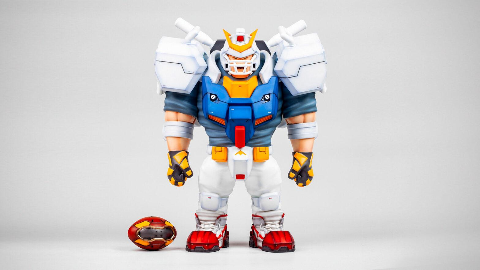 Lowfool Gundam Parody Vinyl Figure
