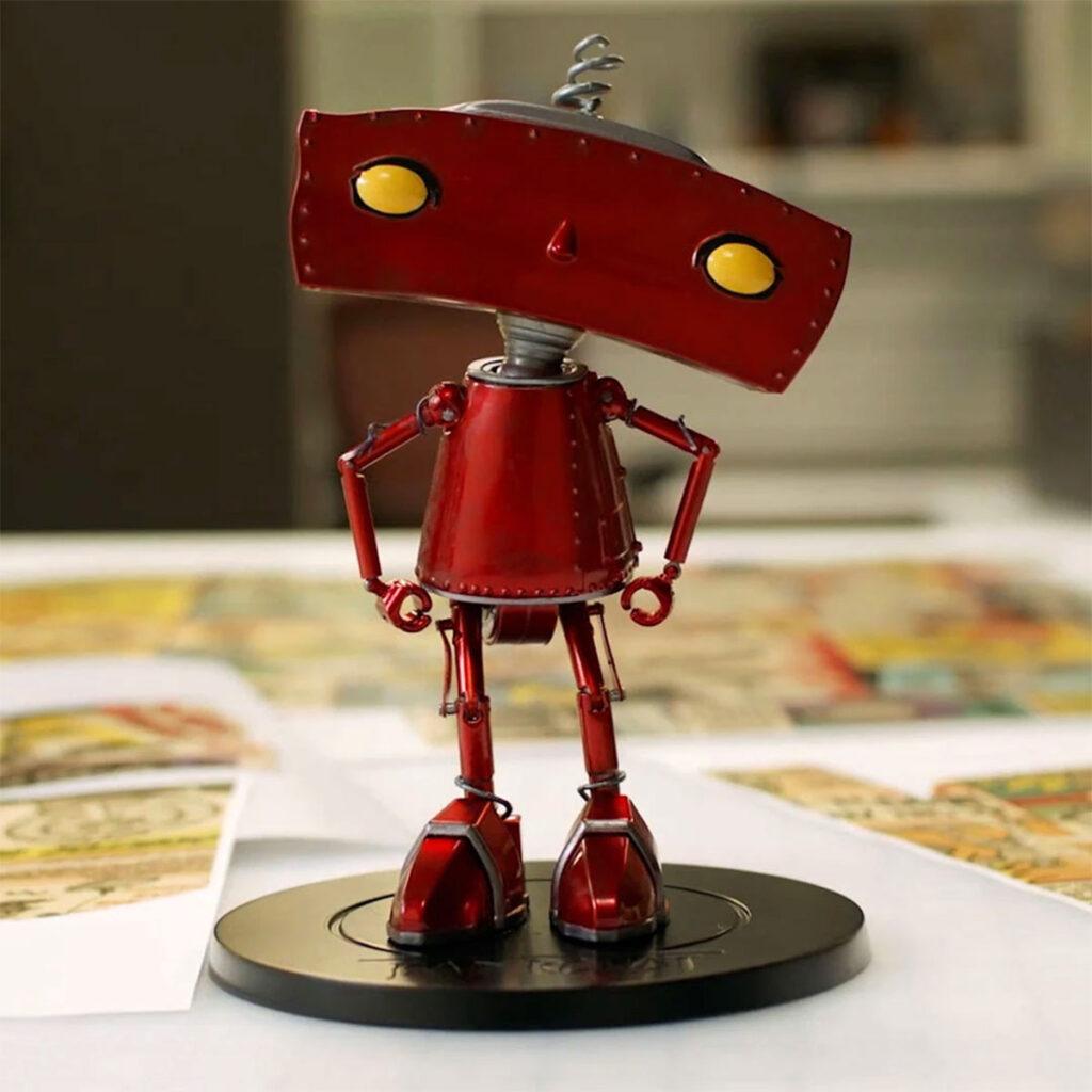 Mattel Creations Bad Robot Premium Action Figure
