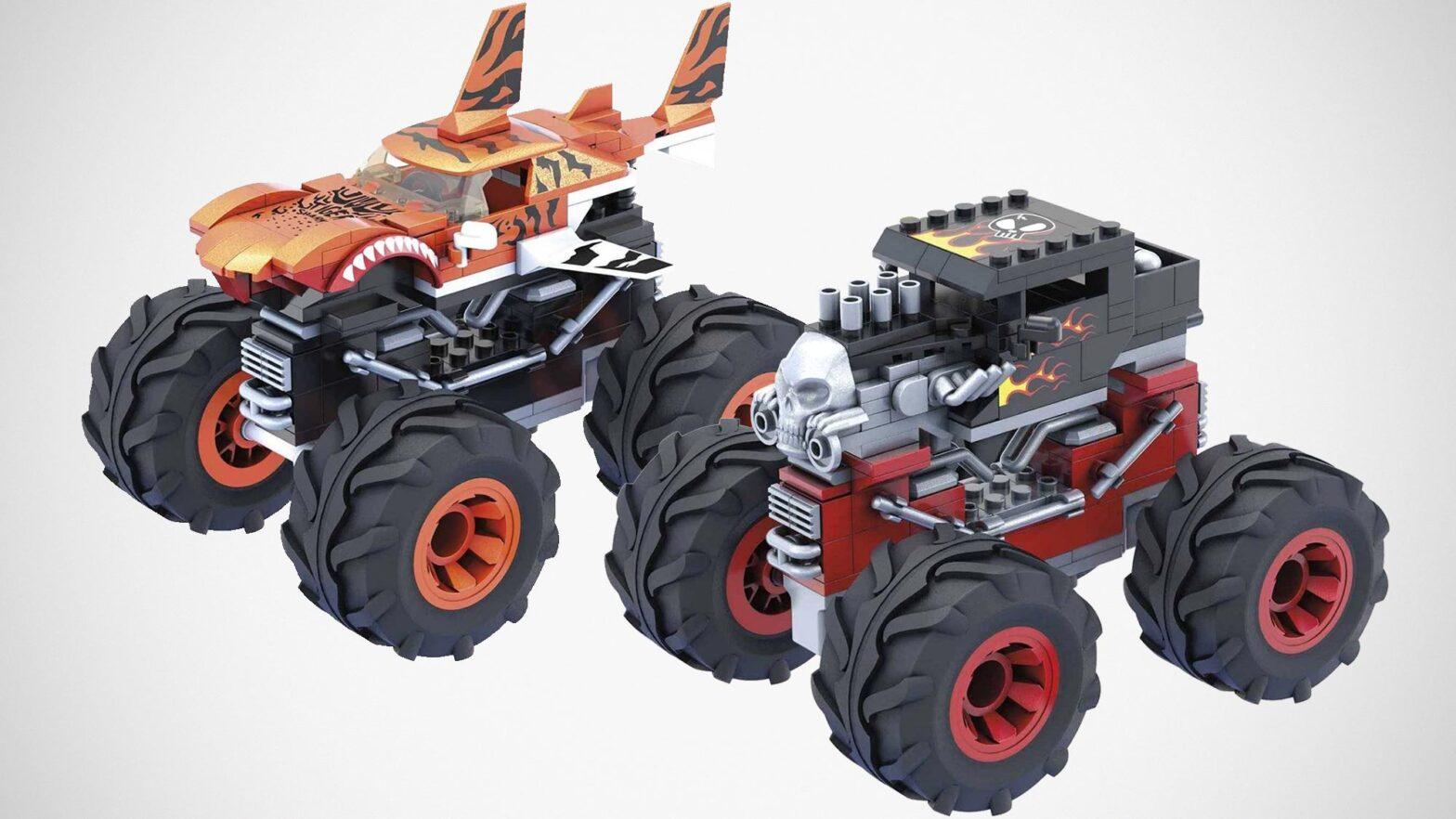 Mega Hot Wheels Monster Trucks Building Sets