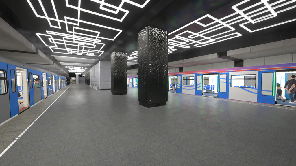 Metro Simulator Video Game on Consoles