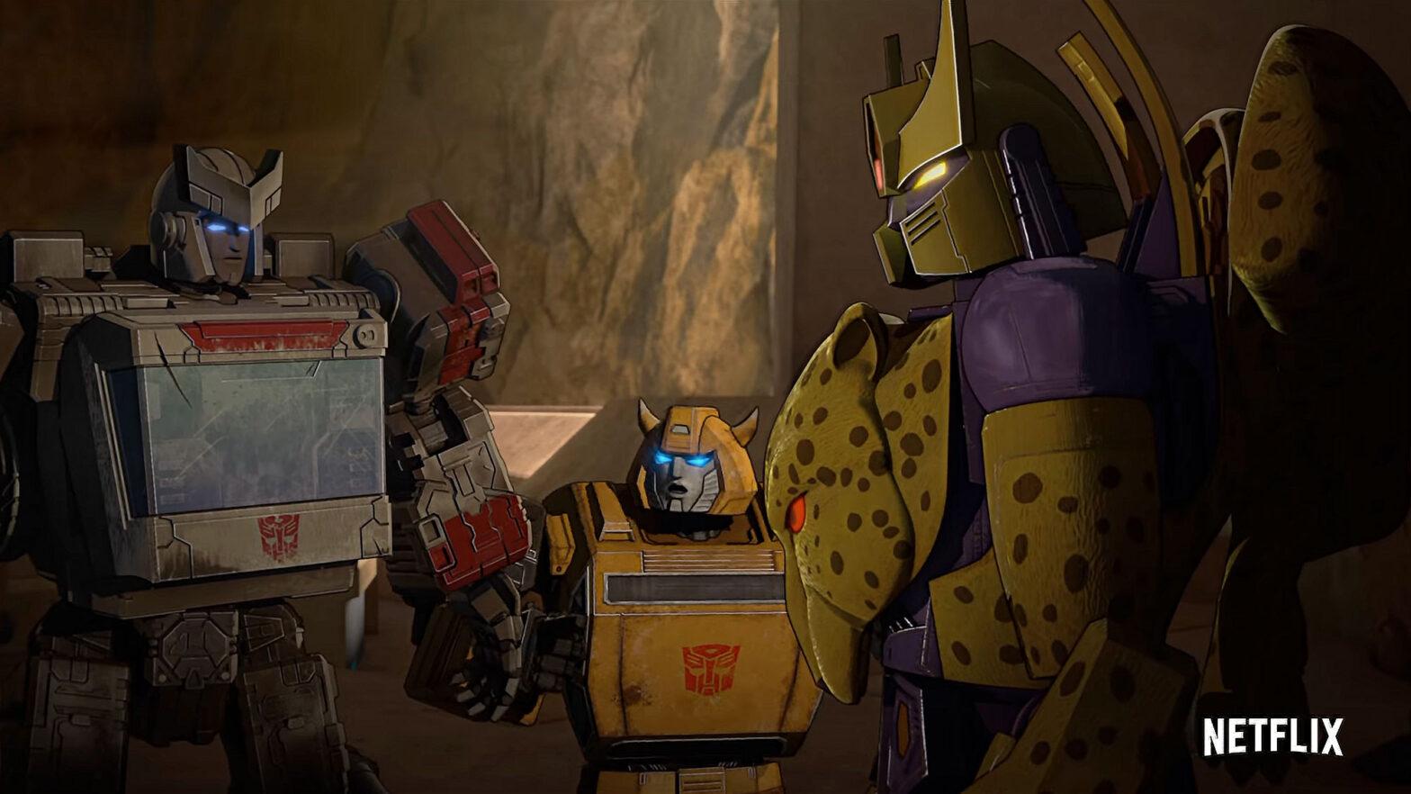 Netflix Transformers War for Cybertron Kingdom Trailer