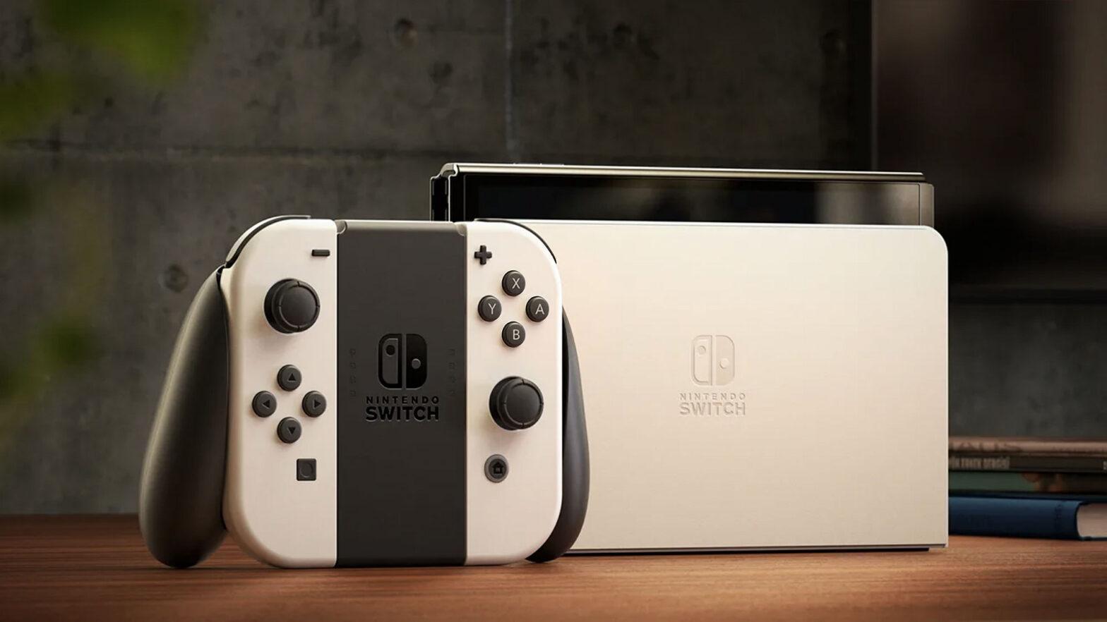 Nintendo Switch OLED Model Announced