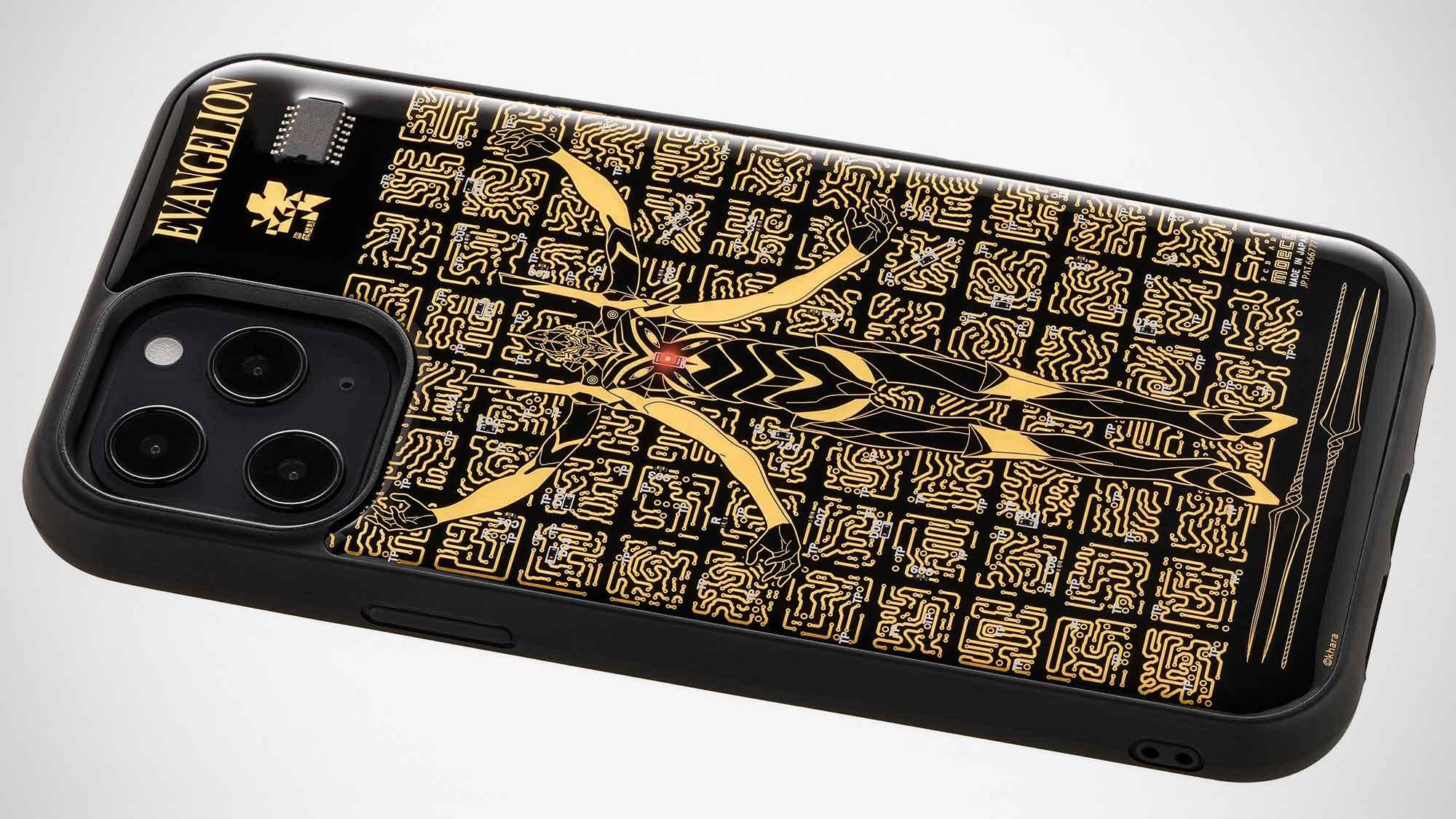 PCB Art moeco Evangelion Light-up iPhone Case