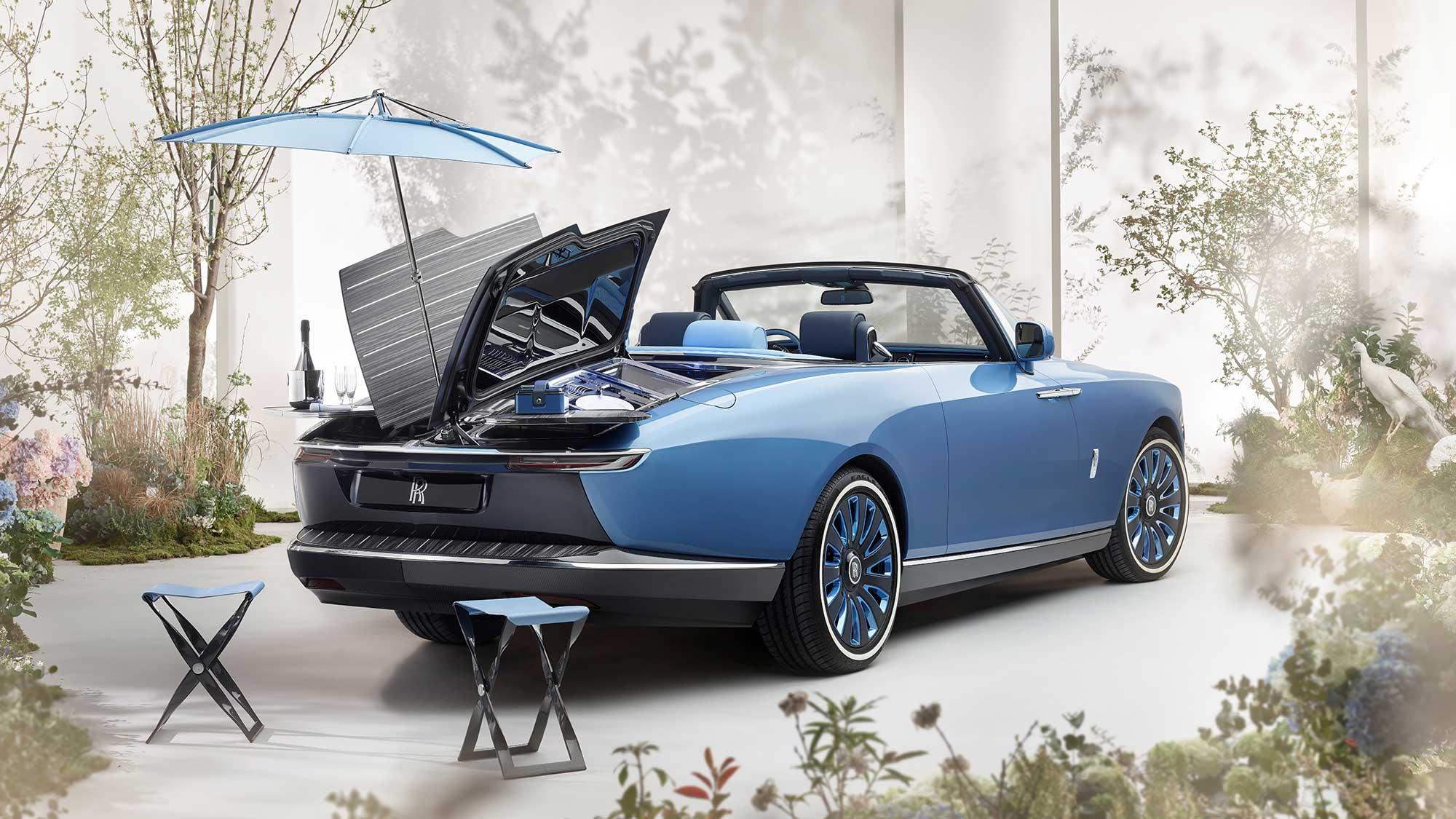 Rolls-Royce Bespoke Coachbuilt Boat Tail