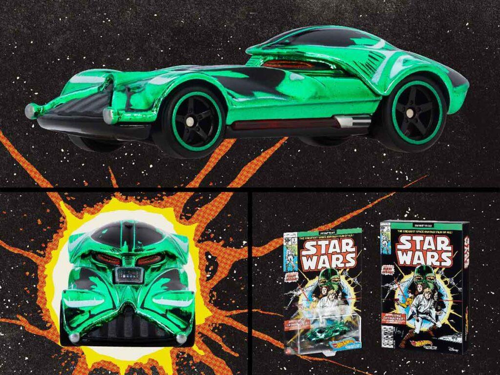 Star Wars Green Darth Vader Character Car