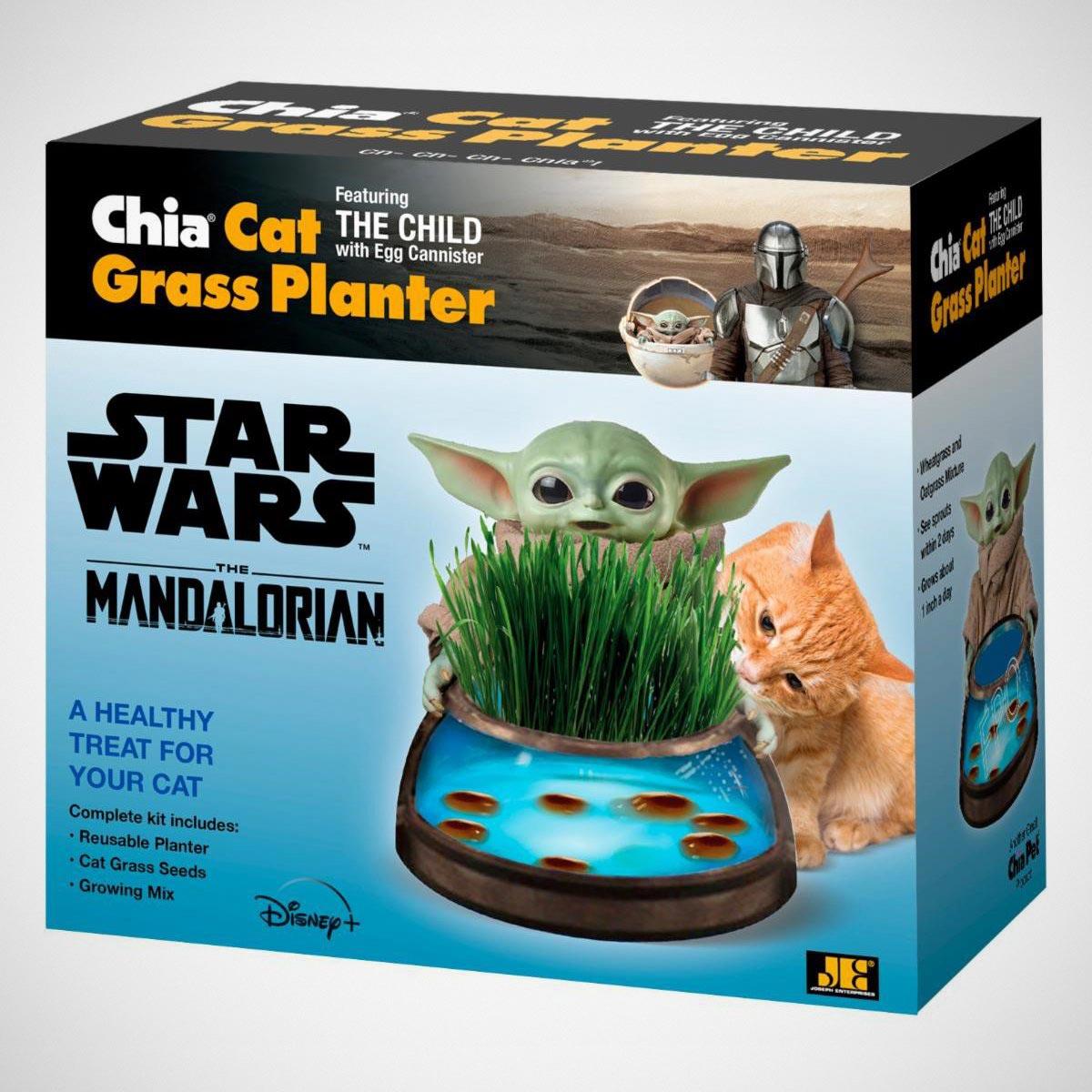 Star Wars The Mandalorian The Child Chia Planters