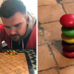 Weird World Record: Tallest Stack Of M&M's Chocolate