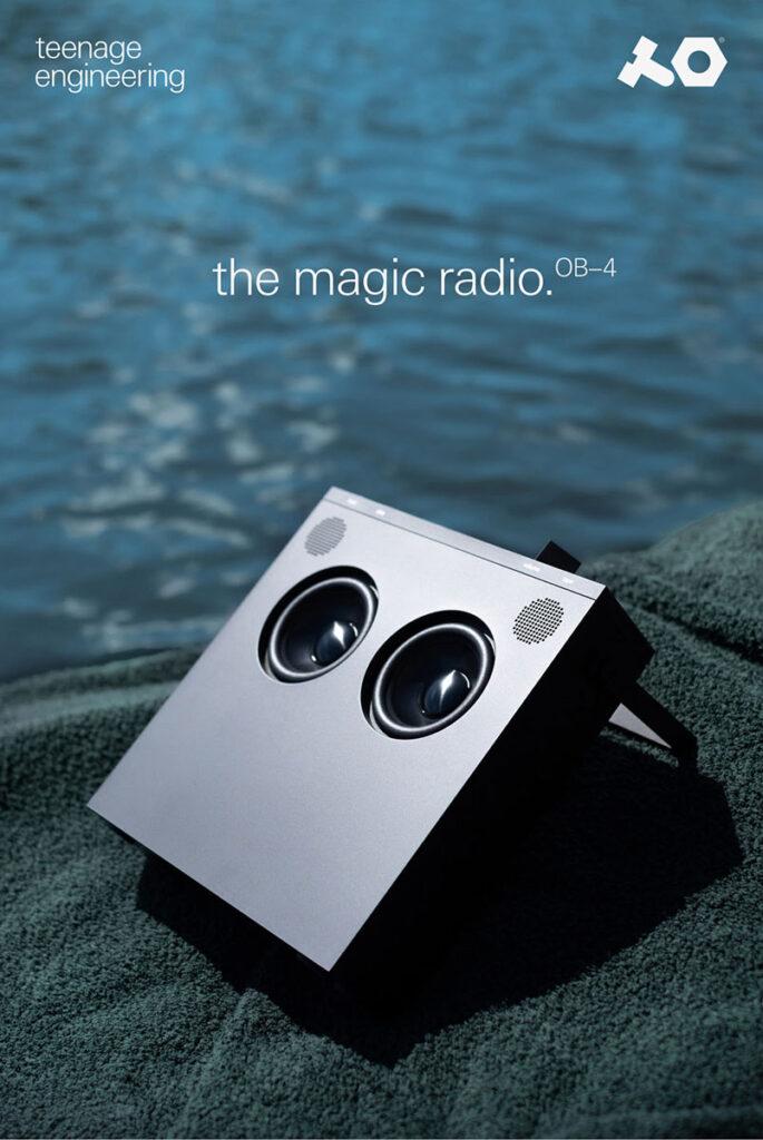 Teenage Engineering OB-4 Magic Radio
