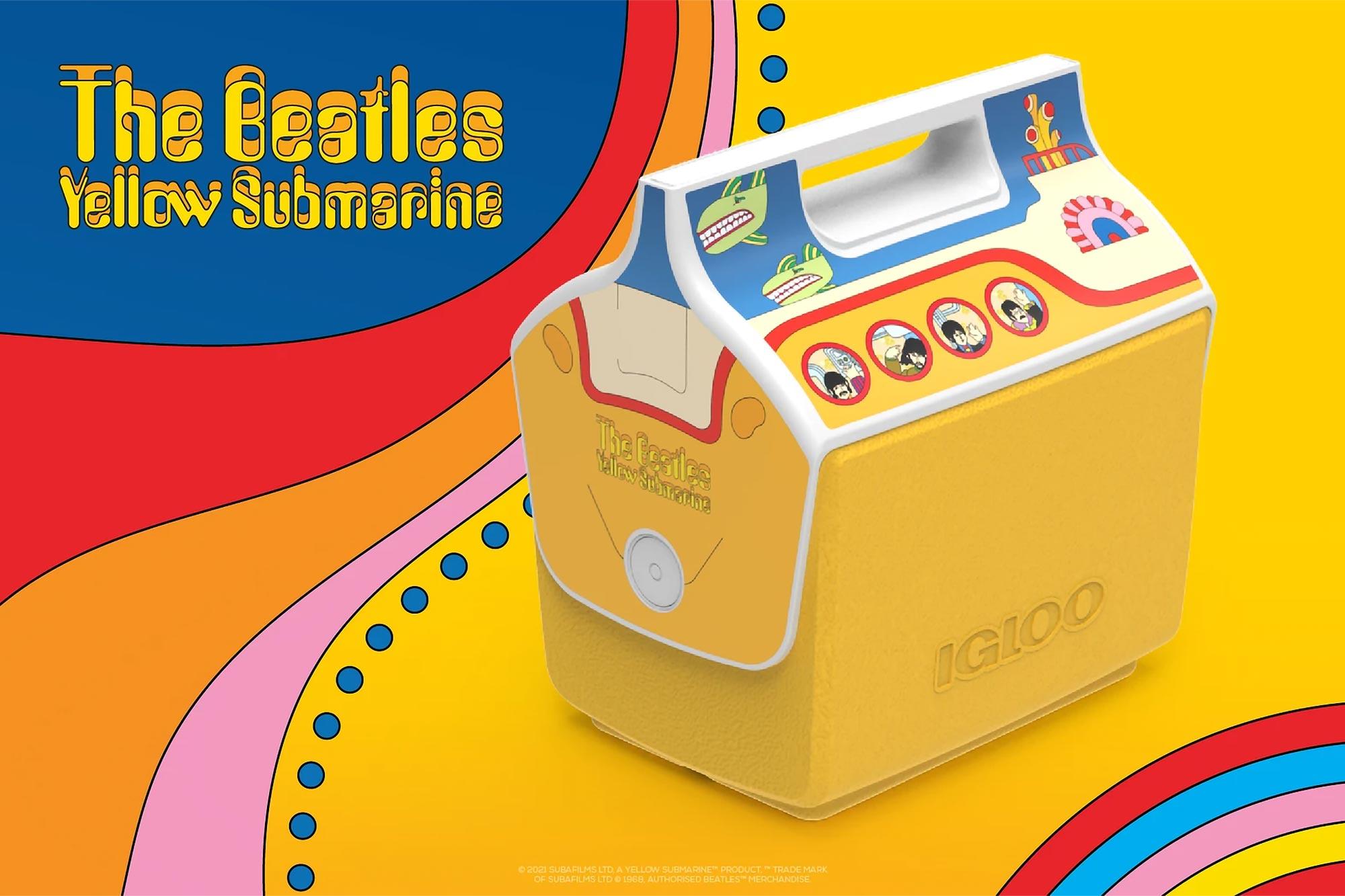 The Beatles Yellow Submarine Igloo Coolers