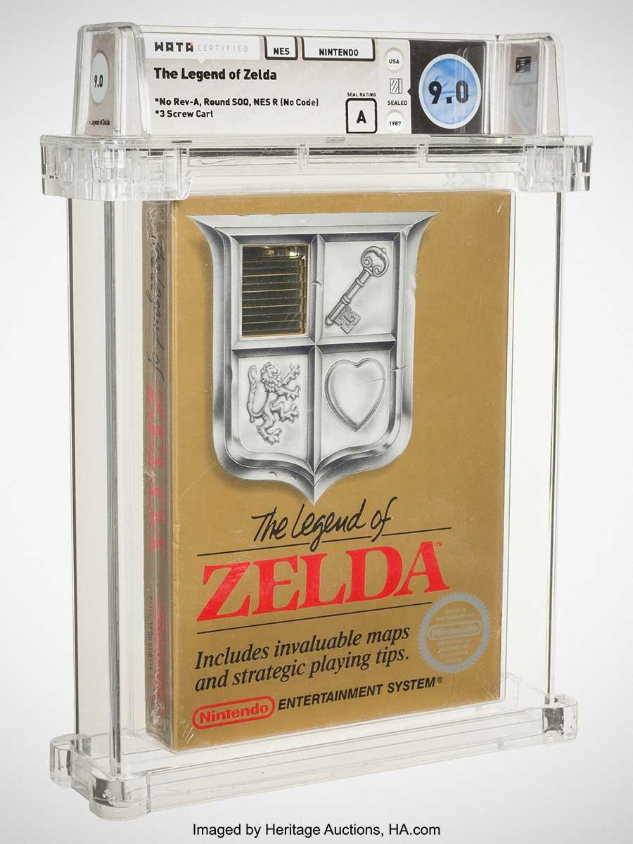 The Legend of Zelda Sold for US$870000