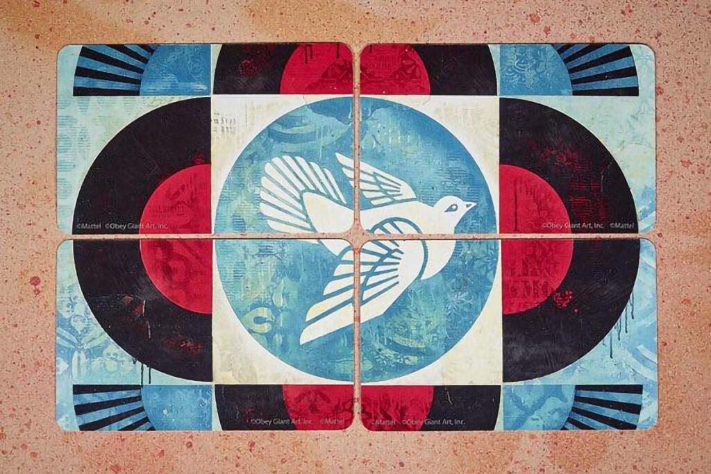 UNO x Shepard Fairey Card Set