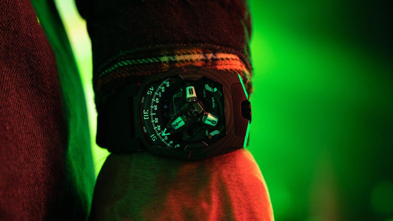 URWERK UR-220 SL Asimov Luxury Watch